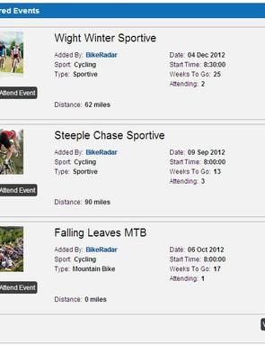 Feature Events - premium listing
