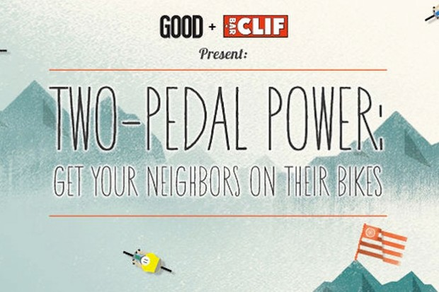 CLIF want you to pedal your bike