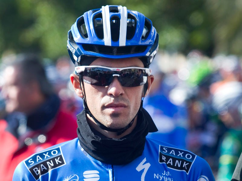Alberto Contador: back with Saxo Bank for three more years