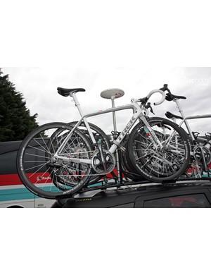 RadioShack-Nissan-Trek is racing on a new Trek Madone at the Critérium du Dauphiné