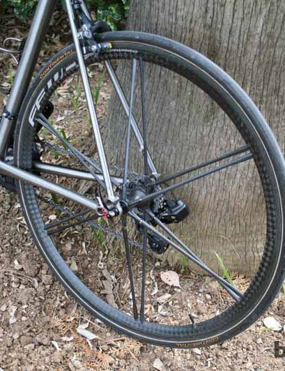 FFWD Ghost tubular wheelset