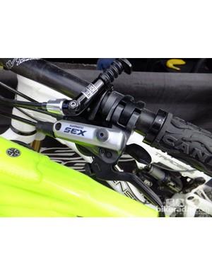 Cheeky modification, or something Shimano aren't telling us about?