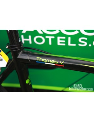 Thomas Voeckler (Europcar) may be riding an Italian bike but he's a proud Frenchman