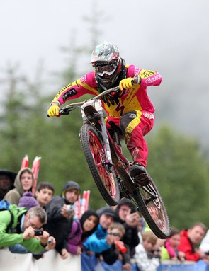 Sam Hill on the way down