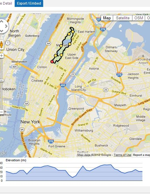 Not got much time to spare? How about a quick spin around Central Park?
