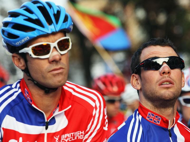 David Millar and Mark Cavendish - teammates again at the Olympics?
