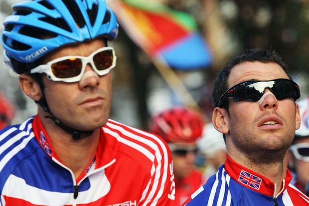 David Millar and Mark Cavendish - teammates again at the Olympics?