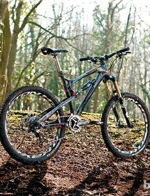 On the 2012 model, both the front and rear triangle are made from carbon
