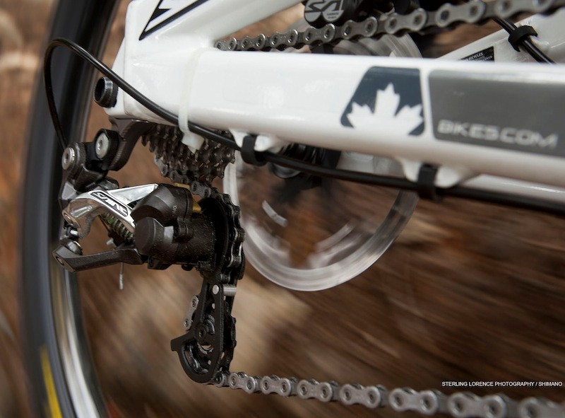 Shimano's Saint M820 group in action