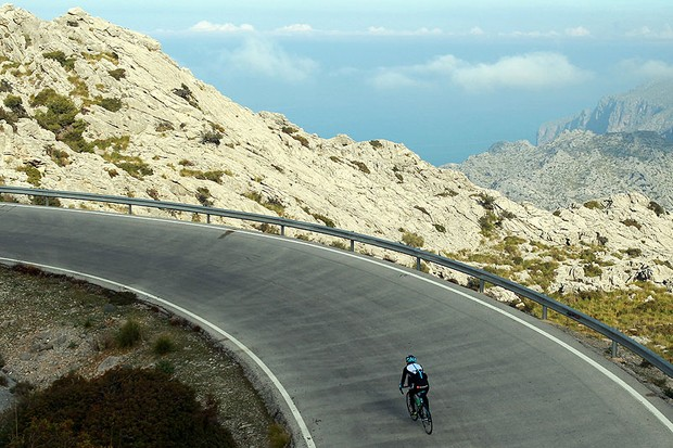 Mountainous cycling, a temperate climate and an ideal location are just three of the reasons cyclists flock to Mallorca each year