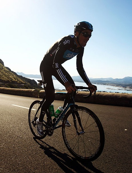 The coast is never far away when you're riding round Mallorca