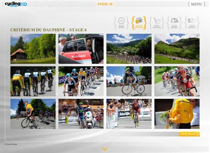 Stunning Tim de Waele galleries on your iPad in Cycling News HD