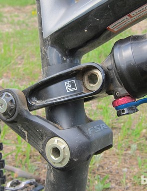 The Enduro's linkage and pivots run on sealed cartridge bearings