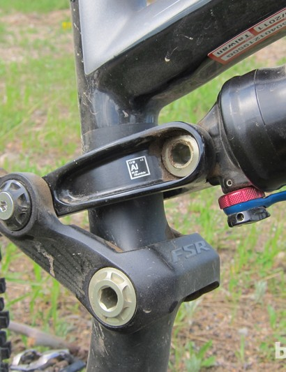 The Enduro's linkage and pivots run on sealed cartridge bearings