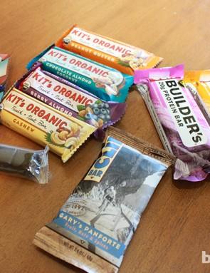 Clif's 10 new flavors plus Panforte
