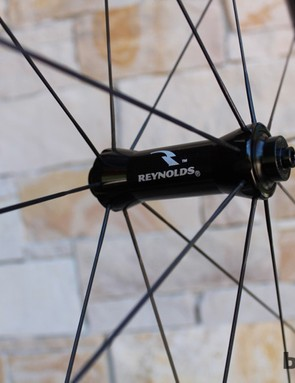 DT Swiss hubs are all the center of the Aero wheels