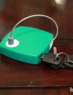 The Milkman is a small device but features a 90cm retractable cable lock
