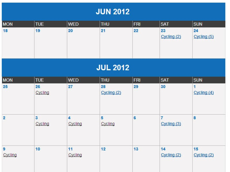 Find out what events are coming up near you with the BikeRadar Training events calendar