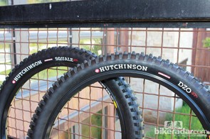 Hutchinson's DZO and Squale downhill tires