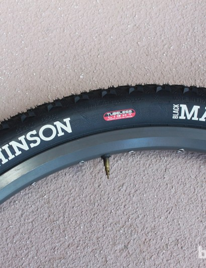 Olympic hat trick? Hutchinson's Black Mamba Olympic XC tire