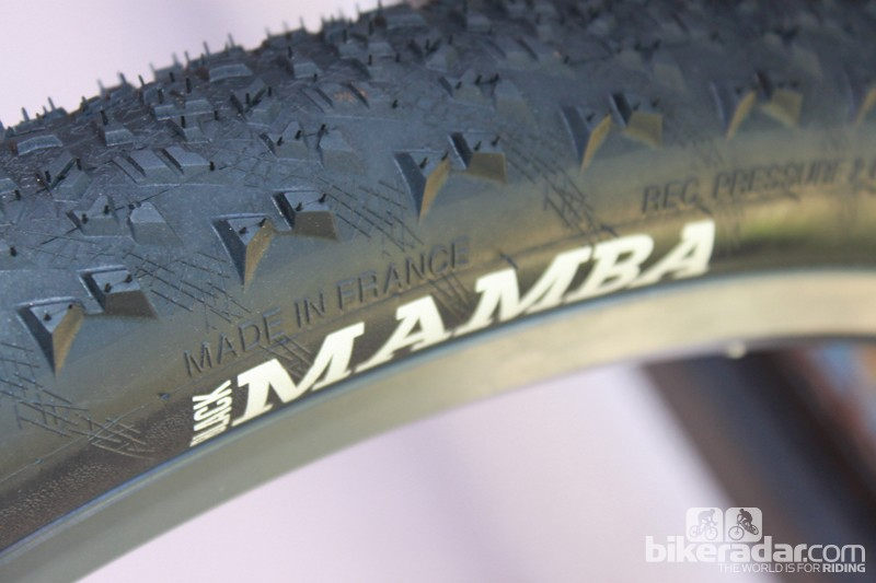 Black Mamba is made in France, as with all of Hutchinson's high-end models shown here