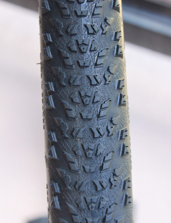 The low, fast rolling Black Mamba tread