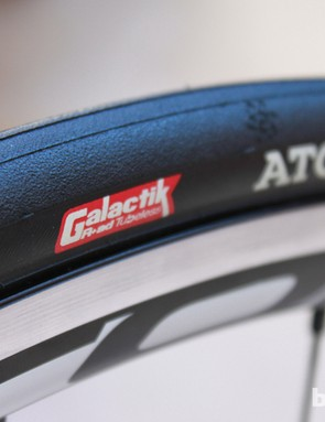 Hutchinson claim Galactik to have 6-percent lower rolling resistance than their professional tubular tire