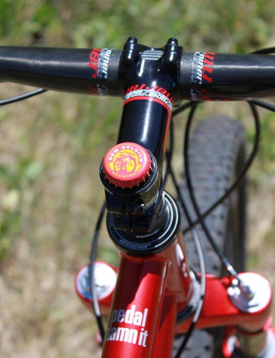 Niner now offer an RDO stem to complete their cockpit group