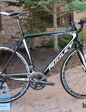 The US$3,195 Fenix is one of Ridley's three new road bikes for 2013