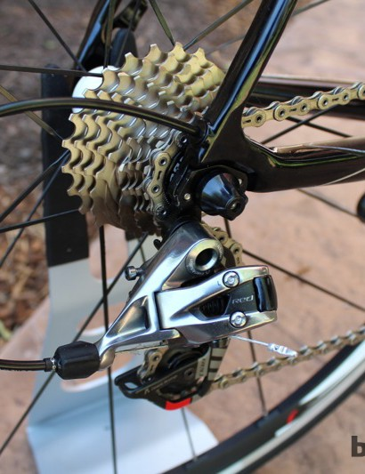 Internal routing is becoming increasingly common on carbon bikes