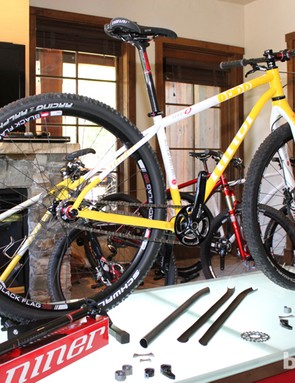 Niner have launched the revamped SIR 9 with six custom IMBA edition frames, all of which will be auctioned with 100 percent of the proceeds going to the IMBA
