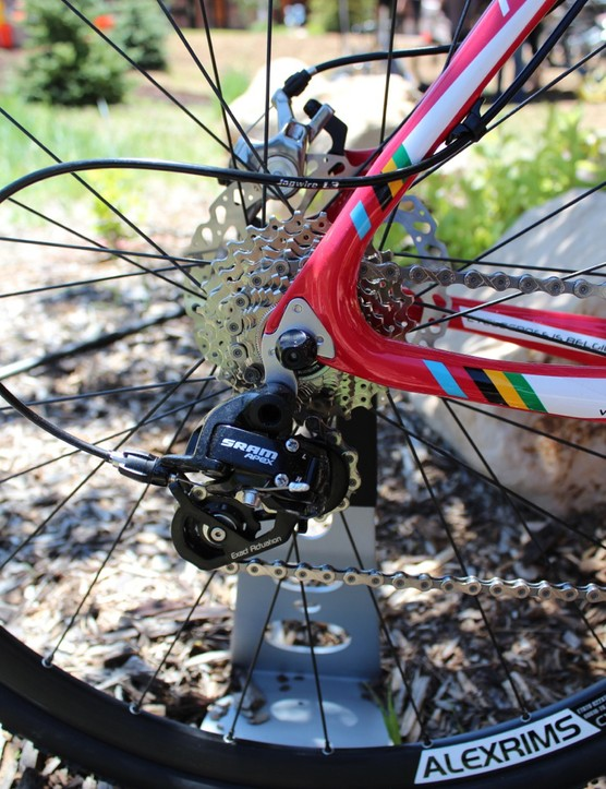 Continuous cable housing is a big plus for 'cross bikes