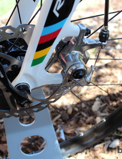 Hayes disc brakes feature across the line of Ridley 'cross bikes