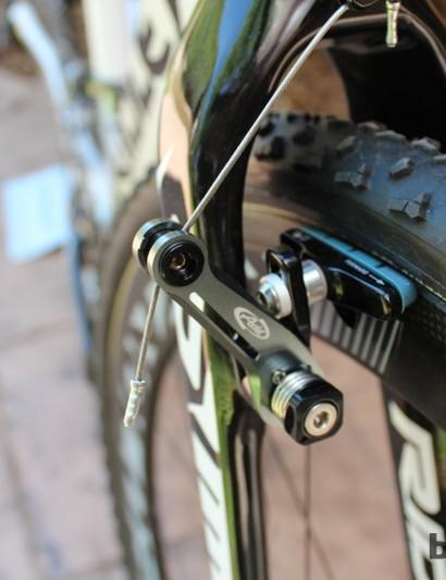 Avid Ultimate brakes with Reynolds' Cryo pads