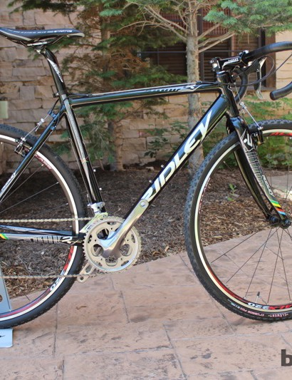 Welcoming new riders into the sport of cyclo-cross, the X-Bow is a US$1,595 bike