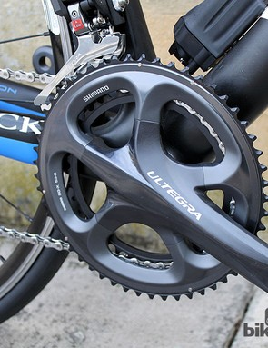 A 53-39T chainset on the Storck Scentron might not be every tourer's idea of fun