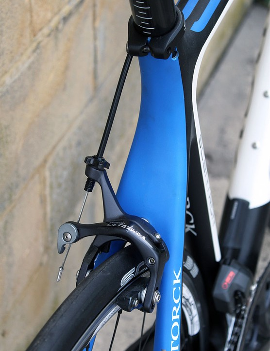 Beefy seatstays on the Storck Scentron
