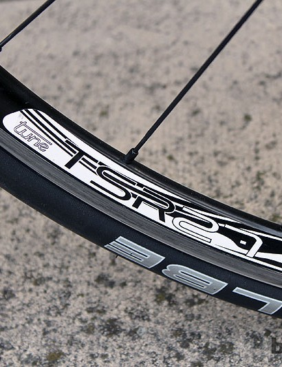 The Tune TSR 27 rims are an option on the Storck Scentron from UK dealer Poshbikes
