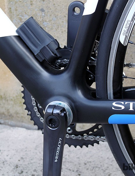 A 68mm BSA bottom bracket on the Storck Scentron