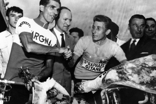 Jacques Anquetil's rule-bending towards the end of the '63 Tour helped propel him to a third consecutive title