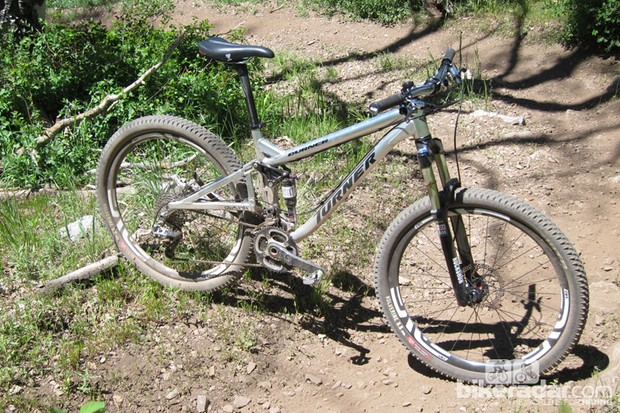 Tuner's 650b/27.5in wheeled Burner trail bike
