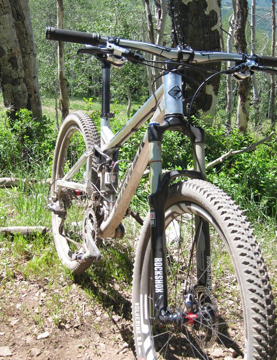 While Enve made the phone call, RockShox and Fox really make 650b wheeled bikes possible