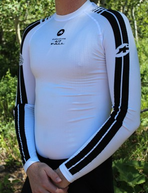 The fall base layer is a poly pro mix