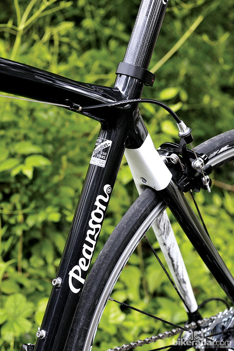 Chunky seatstays buck the super-slim trend but take the edge off bigger bumps