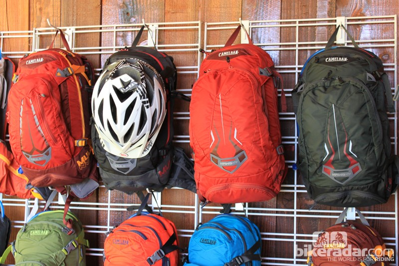 The Mule NV pack heads the new NV ventilation line; Camelbak also offer a massive Hawg NV and the women's LUXE NV models with the new system