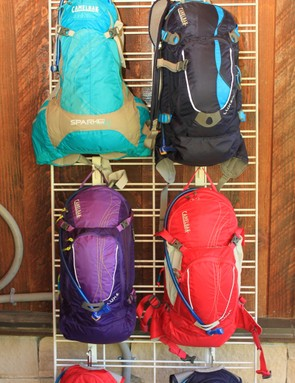 Camelbak's women's collection is headed by the new Spark and the LUXE NV