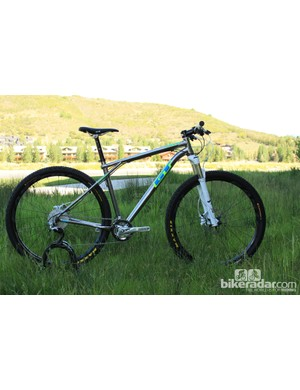 The 2013 Xizang sports 29in wheels, GT will sell the bike as a frame only