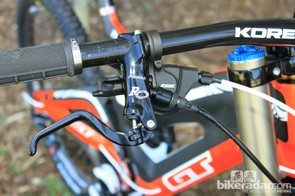 Shimano's Zee shifter and Formula's excellent RO brake