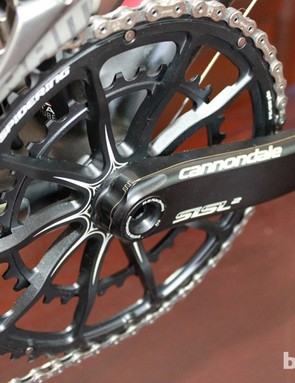 The OPI chainring set will fit any generation Hollowgram crankset