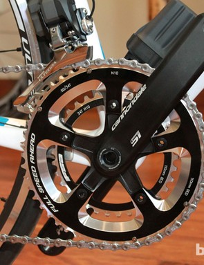 Cannondale's new 3D forged Hollowgram SI crankset